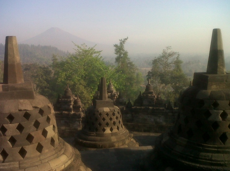 Photo of Borobudur Temple when quiet (Photo: Detik)