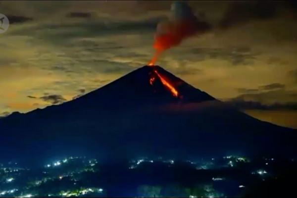 Erupsi Gunung Semeru