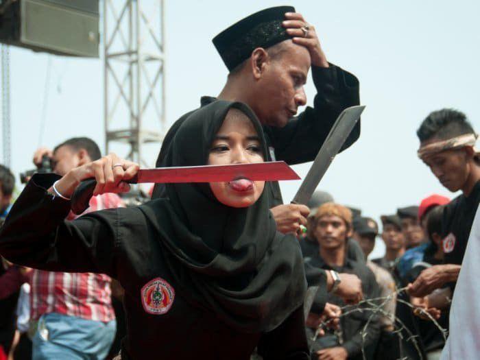 Debus di Banten