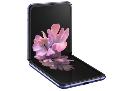 Samsung Galaxy Z Flip (Rp 20 jutaan)