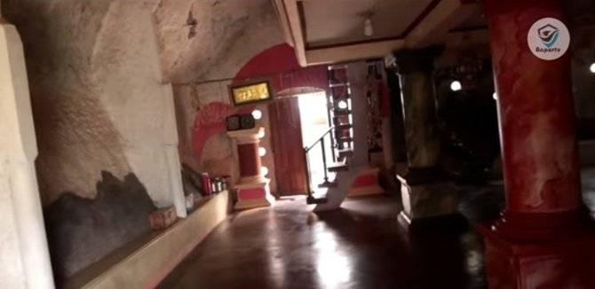 Rumah Batu Raksasan bagian dalam (Sumber : Baper TV)